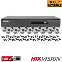 SISTEM SUPRAVEGHERE INTERIOR TURBOHD CU 16 CAMERE VIDEO HIKVISION TVI-16INT20-1080P
