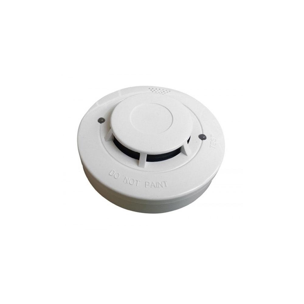 Detector conventional de fum fotoelectric wizMart NB326-S-2L, LED dual, vizibilitate 360 grade, 2 fire imagine spy-shop.ro 2021