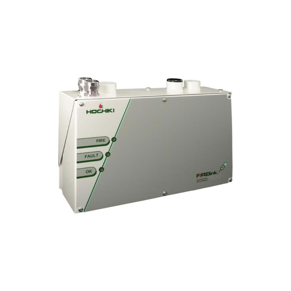 Detector de fum cu aspiratie cu 2 tuburi Hochiki FIRELINK-100, 2 alarme, 100 m, IP50