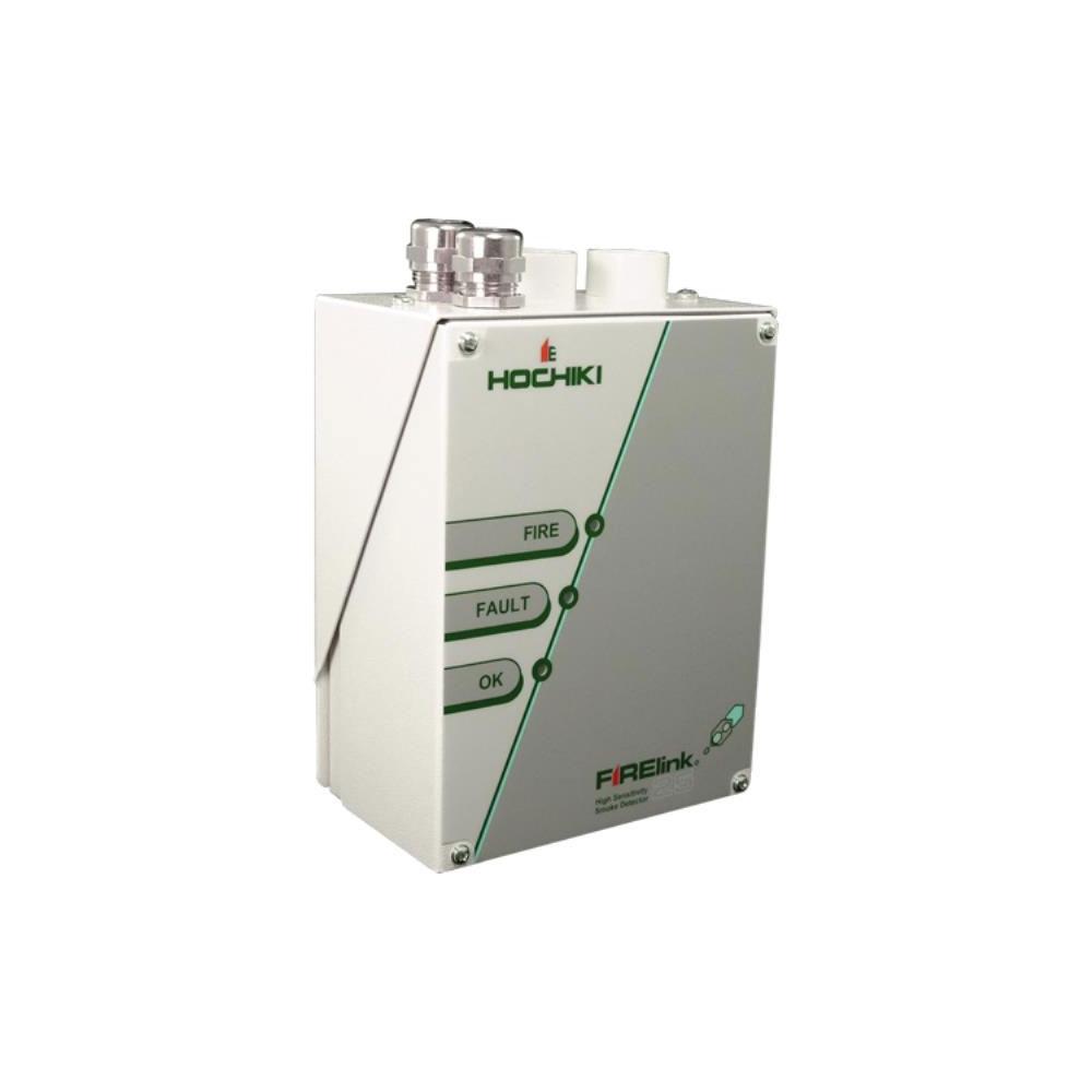 Detector de fum cu aspiratie cu 1 tub Hochiki FIRELINK-25, 2 alarme, 50 m, IP50 imagine spy-shop.ro 2021