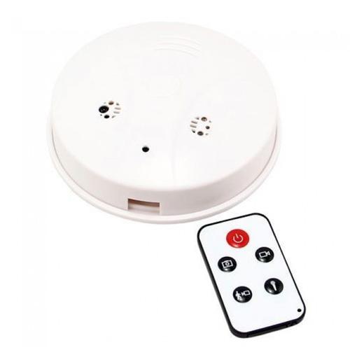 Camera Spion Disimulata In Detector De Fum, 960 P, Microfon Incorporat, Detectia Miscarii