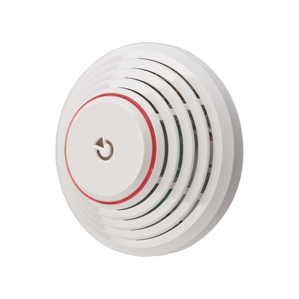 Detector de fum si temperatura adresabil cu sirena Jablotron JA-111ST-A, LED, tamper, alimentare pe bus