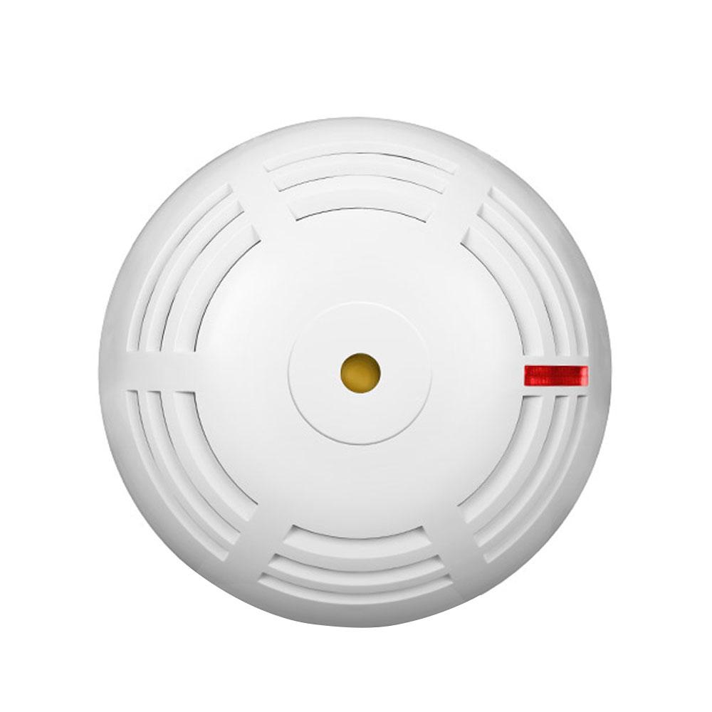 Detector de fum wireless cu sirena Satel ASD-150, RF 500 m, tamper, autonomie 2 ani