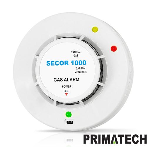 DETECTOR DE GAZ METAN SI MONOXID DE CARBON PRIMATECH SECOR 1000 / 230V imagine spy-shop.ro 2021