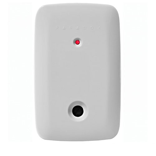 Detector de geam spart wireless Paradox G550, 6 m, 360°, protectie EMI/RFI imagine spy-shop.ro 2021