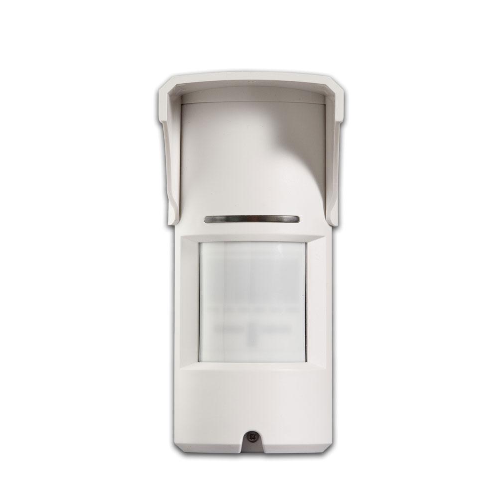 Detector de miscare digital de exterior PIR si MW SIM-110, 15 m, 90 grade, pet immunity