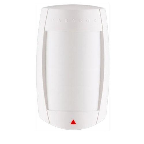 Detector de miscare dual de interior Paradox DG75+, 11 x 11 m, 90°, pet immunity imagine spy-shop.ro 2021