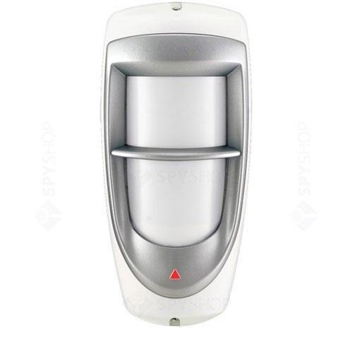 Detector de miscare exterior Dual optic Paradox DG85, fara suport, adresabil/conventional, 3 tipuri lentile