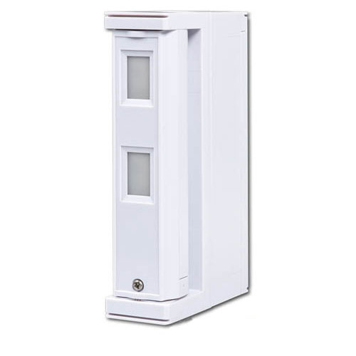 Detector de miscare tip perdea pentru exterior JABLOTRON 100 JA-157P, wireless, zona duala, IP55 imagine spy-shop.ro 2021