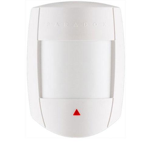 Detector de miscare digital Quad PIR Paradox DG65+, 12 m, 110°, Digital Shield imagine spy-shop.ro 2021