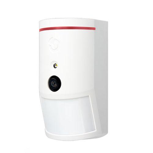 Detector de miscare PIR cu camera JABLOTRON 100 JA-120PC-90, 12 m, 640 x 480 pixeli, 3 m flash imagine spy-shop.ro 2021