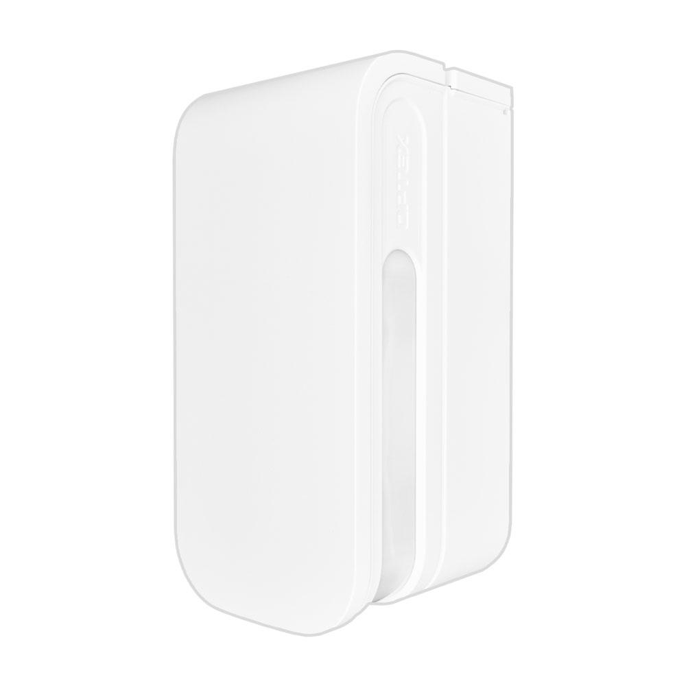 Detector de miscare tip perdea pentru exterior Optex BX Shield BXS-R(W), 4 x PIR, 2 x 12 m, baterie, alb imagine spy-shop.ro 2021