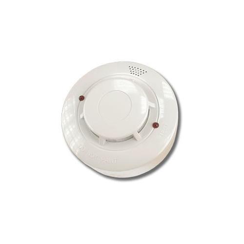 Detector de fum si temperatura cu 2 fire wizMart NB-326S - 2, LED dual, vizibilitate 360 grade, functie AutoReset