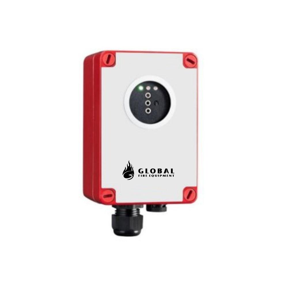Detector optic de flacara IR Global Fire GFE-SWR-IR3, 17-25 m, 90 grade, ATEX