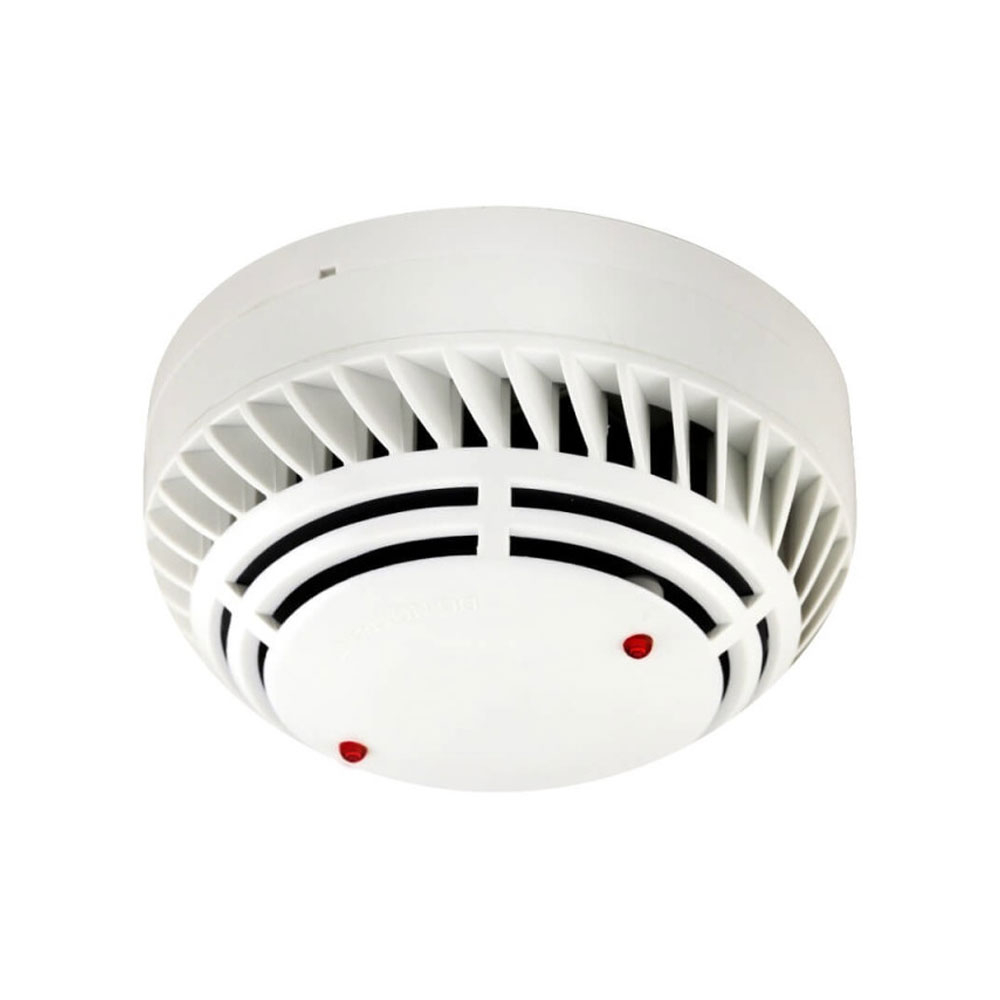 Detector de fum si temperatura analog-adresabil Global Fire ZEOS-AS-SHI, LED 360 grade, alimentare pe bucla, izolator