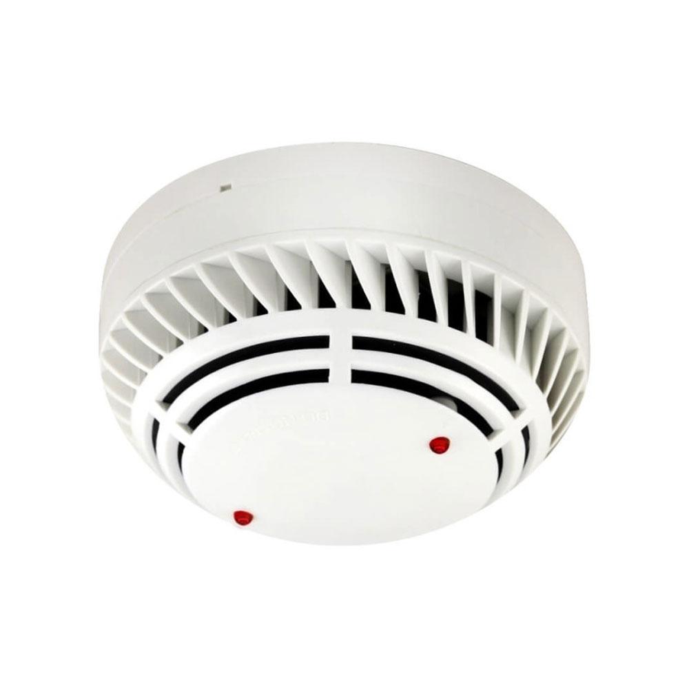 Detector fotoelectric de fum analog-adresabil Global Fire ZEOS-AS-S, LED 360 grade, alimentare pe bucla