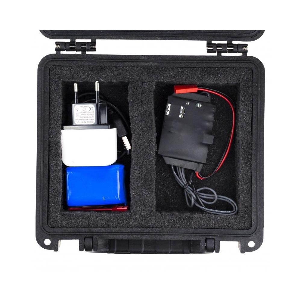 Microfon spion profesional StealthTronic 3G01+, GSM 2G/3G, AGC, 2 microfoane imagine spy-shop.ro 2021