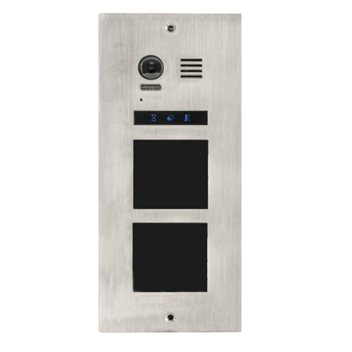 Videointerfon exterior modular DMR21-F2, ingropat,520 linii TV, IP54 imagine spy-shop.ro 2021