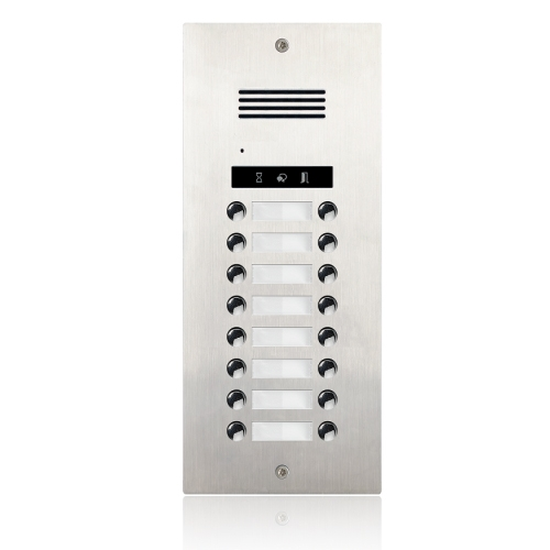 Interfon exterior DMR21A-D16, 16 familii, ingropat, bloc