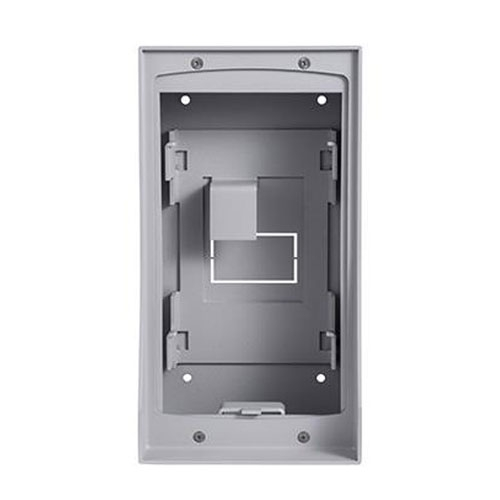 Doza montaj videointerfon Hikvision DS-KAB01, otel inoxidabil imagine spy-shop.ro 2021