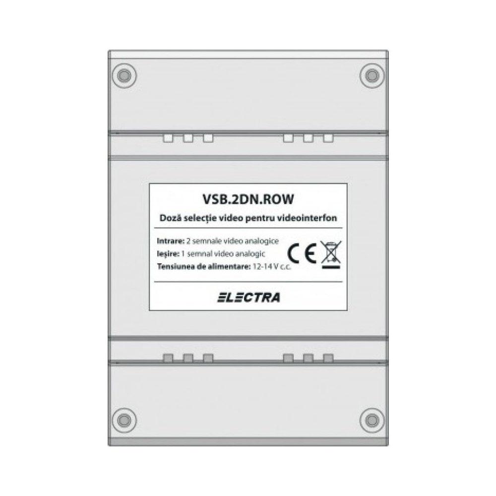 Doza selectie video Smart Electra VSB.2DN.ROW, 2 intrari, 1 iesire, 12-14 Vdc imagine spy-shop.ro 2021