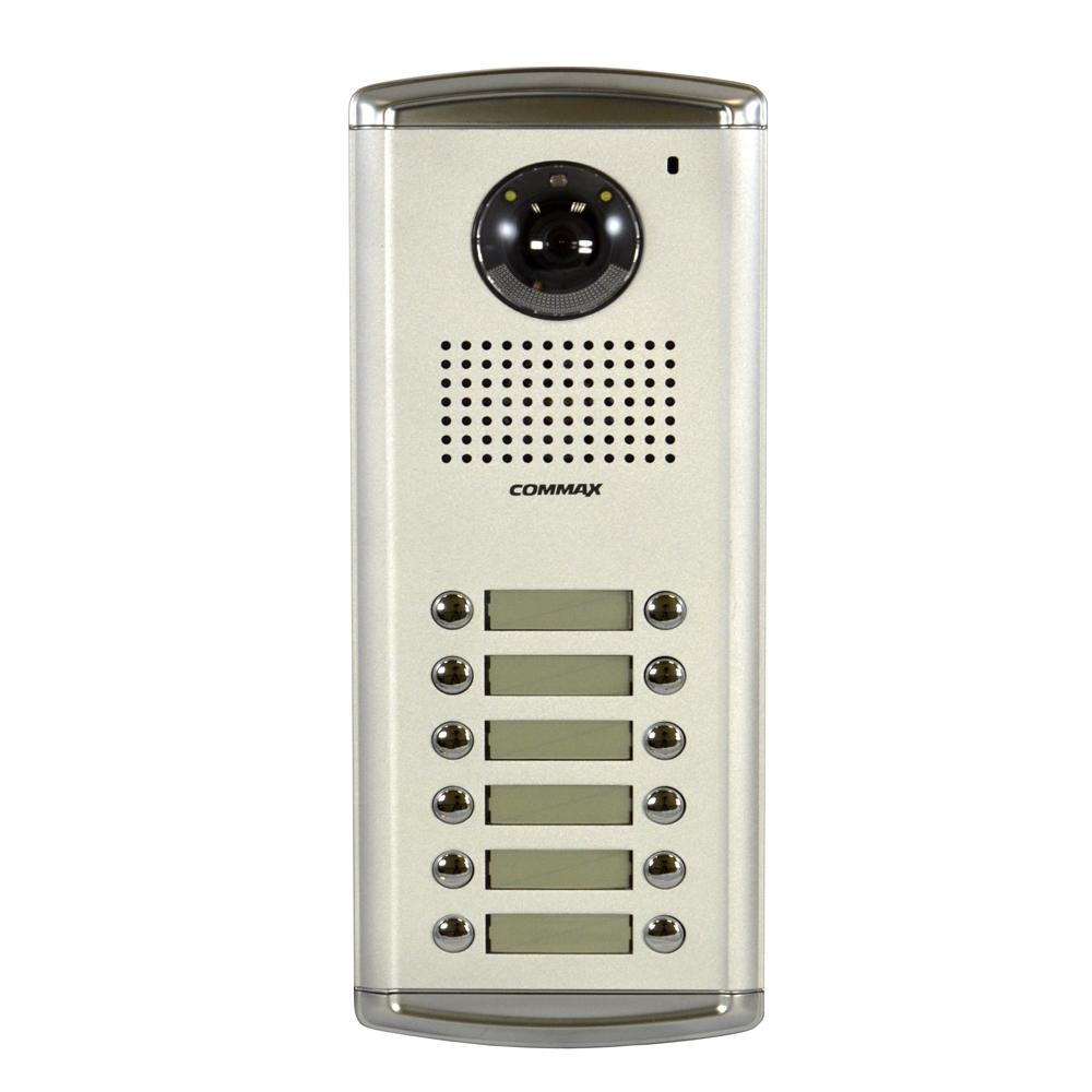 Videointerfon de exterior Commax DRC-12AC2, 12 familii, ingropat, bloc