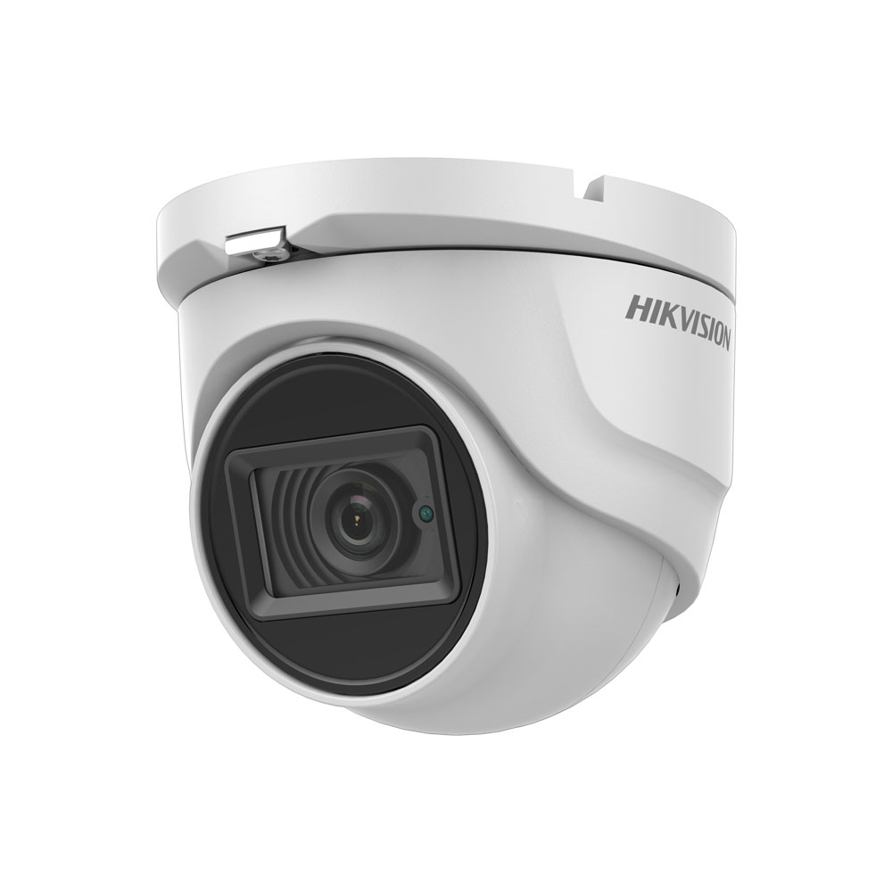 Camera Supraveghere Dome Hikvision Ultra-low Light Ds-2ce76h8t-itmf, 5mp, Ir 30 M, 2.8 Mm
