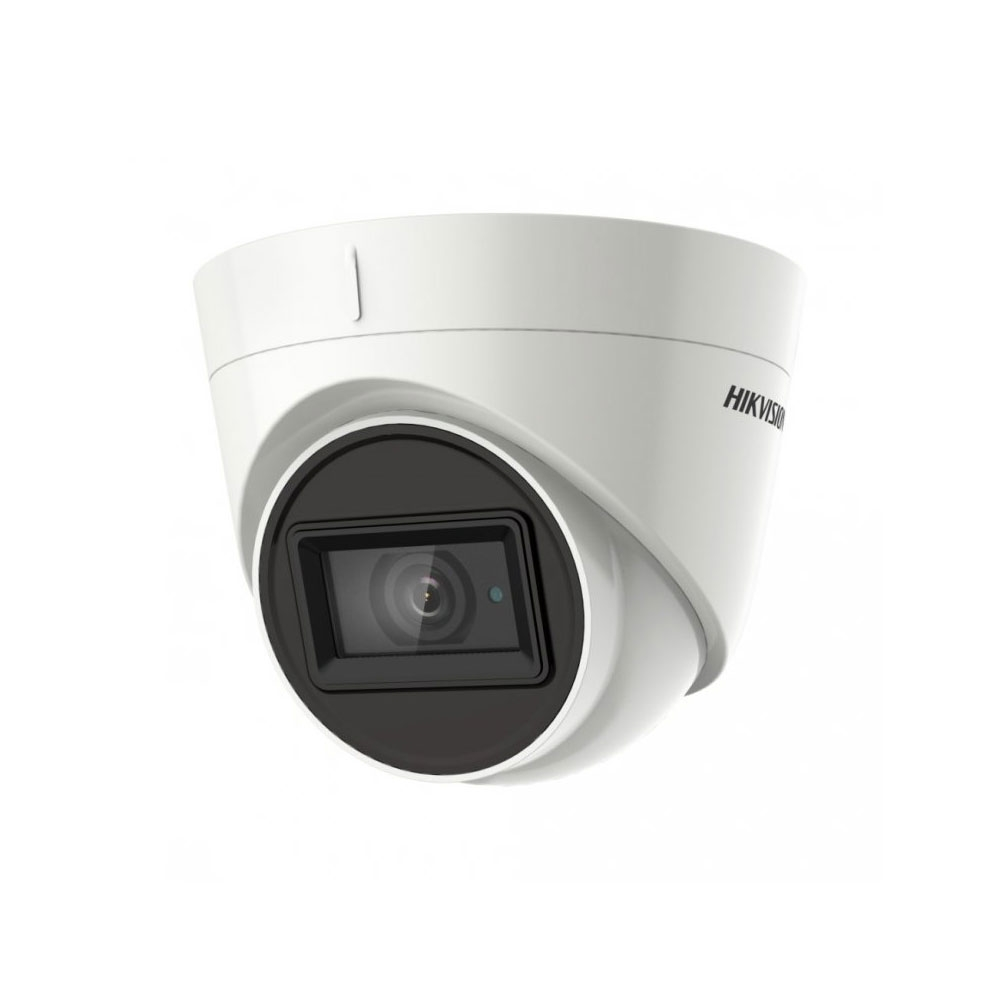 Camera supraveghere dome Hikvision Ultra-Low Light DS-2CE78H8T-IT3F, 5MP, IR 60 m, 2.8 mm