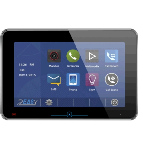 Videointerfon de interior DT31M-TD10-bk, aparent, touchscreen, 10 inch imagine spy-shop.ro 2021