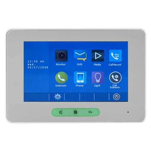 Videointerfon de interior DT37MG(V2)-TD7, aparent, touchscreen, 7 inch imagine spy-shop.ro 2021
