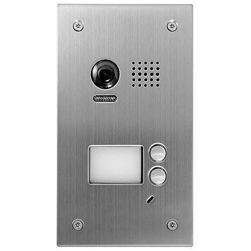 Videointerfon de exterior DT603SDF/C, 2 familii, ingropat, vila imagine spy-shop.ro 2021