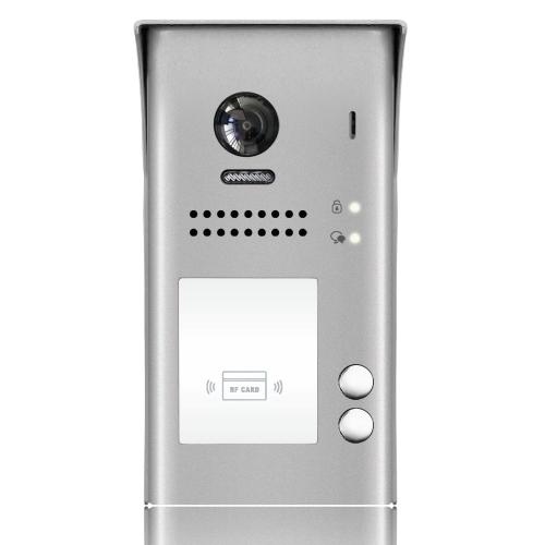 Videointerfon de exterior DT607-ID-S2, RFID, 320 utilizatori, 2 abonati imagine spy-shop.ro 2021