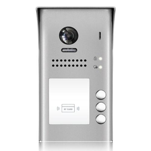 Videointerfon de exterior DT607-ID-S3, RFID, 320 utilizatori, 3 abonati