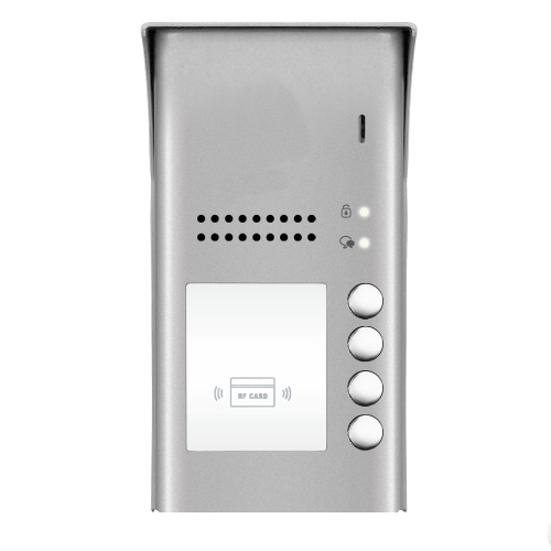 Interfon de exterior DT607A-ID-S4, RFID, aparent, 4 abonati imagine spy-shop.ro 2021