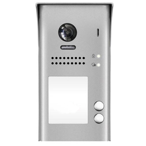 Videointerfon de exterior DT607C-S2, 2 familii, aparent, vila imagine spy-shop.ro 2021