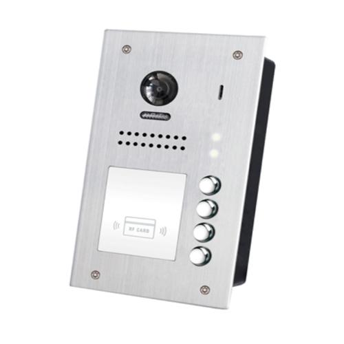 Videointerfon de exterior DT607F-ID-S4, RFID, 320 utilizatori, 4 abonati