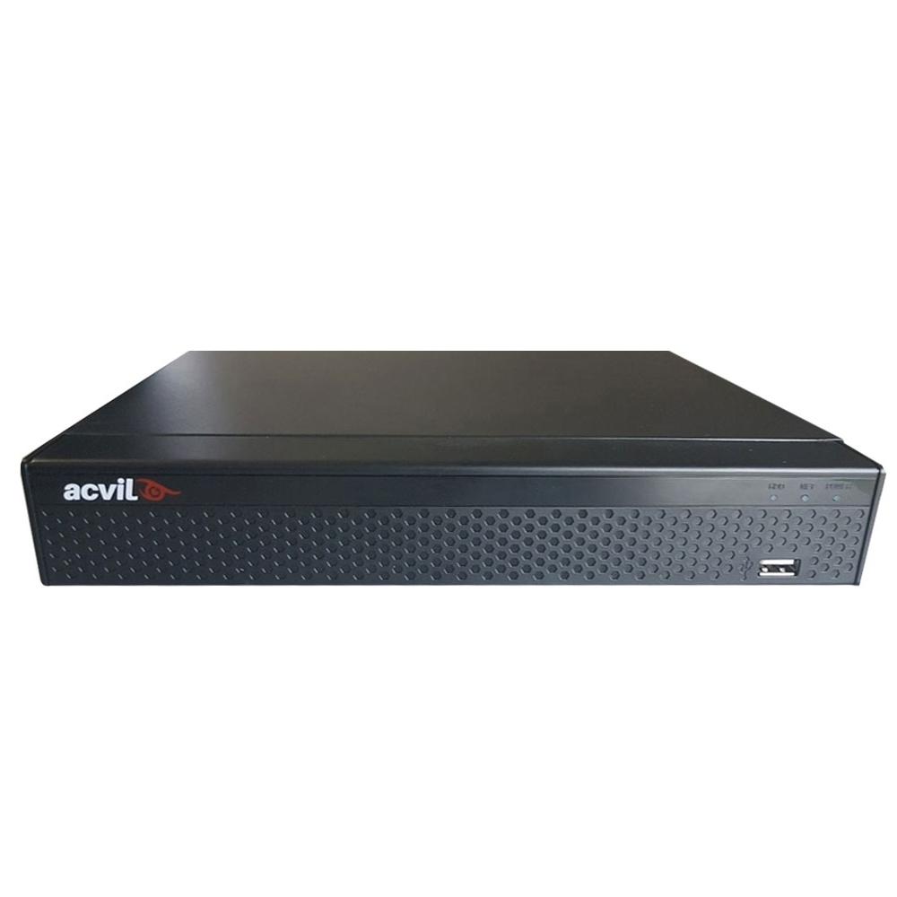 DVR AHD Acvil XVR5108-4K, 8 canale, 8 Mp imagine spy-shop.ro 2021