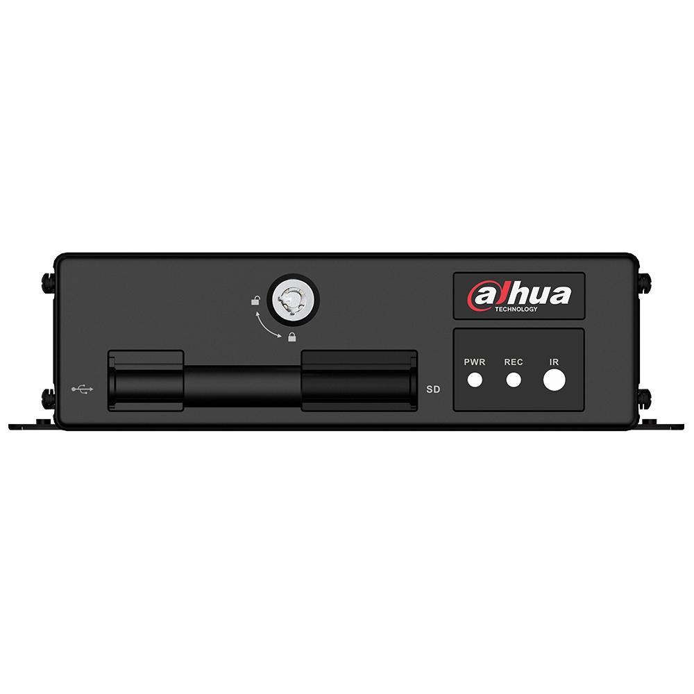 DVR Auto Dahua MXVR1004, 4 canale, 2 MP, detectie faciala imagine spy-shop.ro 2021