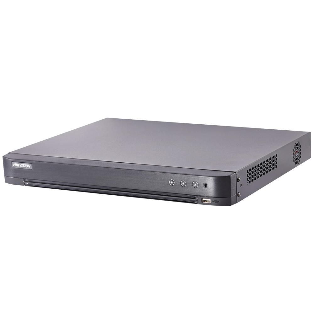 DVR HDTVI Turbo HD 4.0 Hikvision DS-7204HTHI-K2(S), 4 canale, 8 MP, audio prin coaxial imagine spy-shop.ro 2021