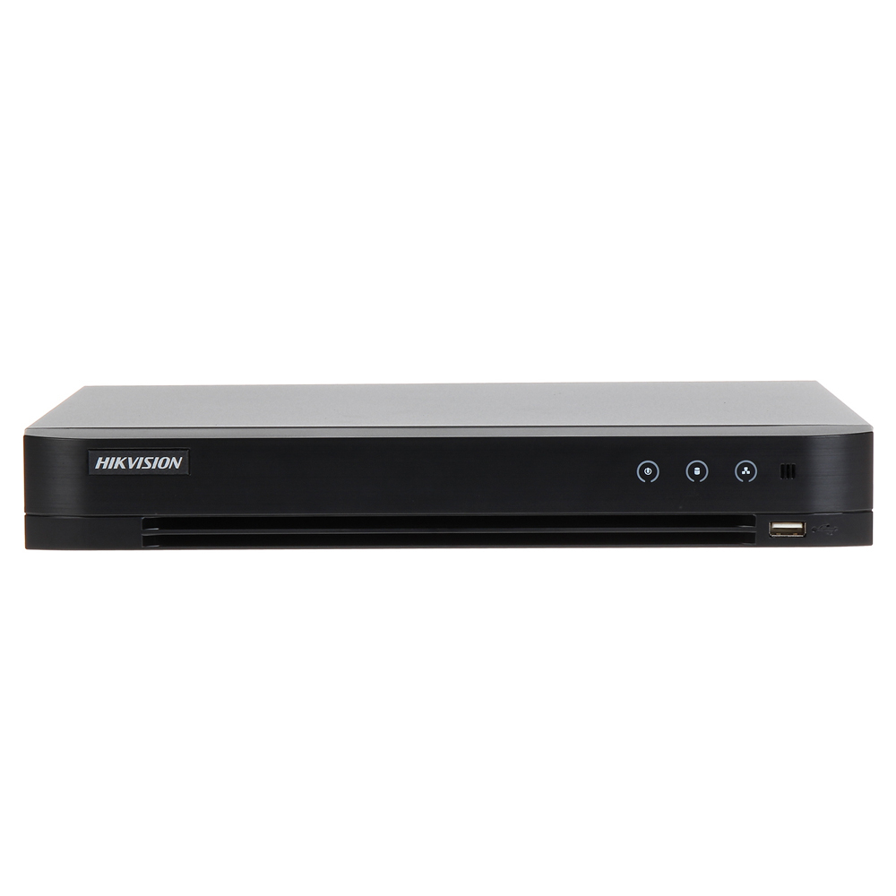 DVR HDTVI Turbo HD 3.0 Hikvision DS-7204HQHI-K1(S), 4 canale, 4 MP, audio prin coaxial imagine spy-shop.ro 2021