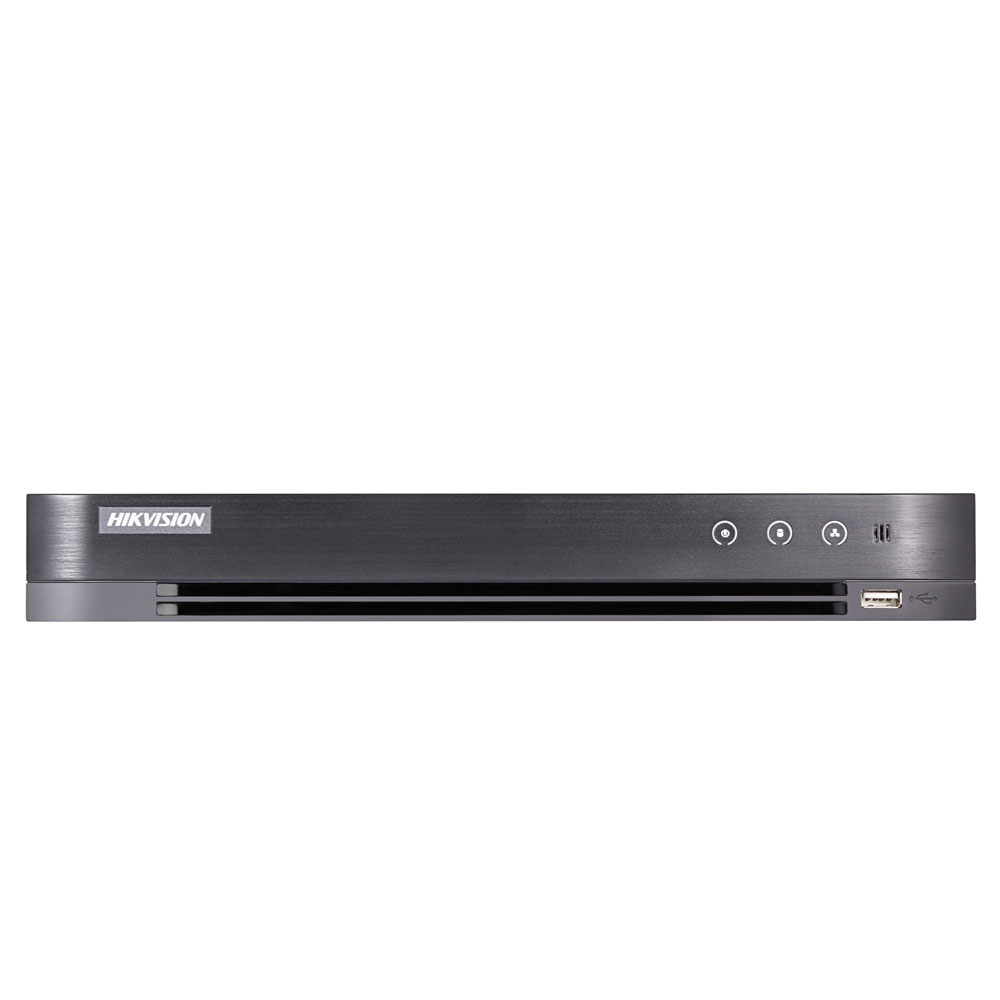 DVR Hikvision Turbo HD 4.0 DS-7208HUHI-K2 S, 8 canale, 8 MP, functii smart, audio prin coaxial imagine spy-shop.ro 2021