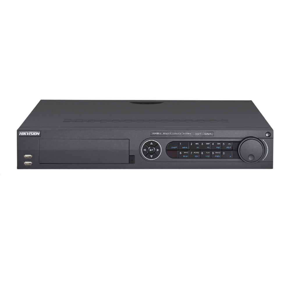 DVR Pentabrid Hikvision Turbo HD DS-7308HUHI-K4, 8 canale, 8 MP, Hot-Swap, POS