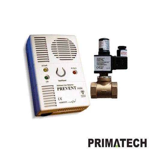 ECHIPAMENT DE PROTECTIE PENTRU GAZ METAN PRIMATECH P 1279/230V 2P1720342SOB