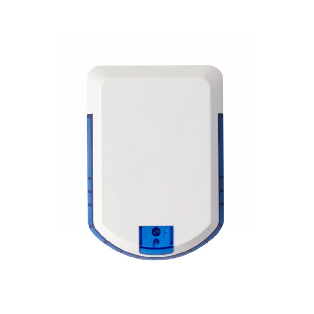 Sirena de exterior wireless cu LED Eldes EWS2, 104 dB, RF 150 m, autonomie 18 luni imagine spy-shop.ro 2021