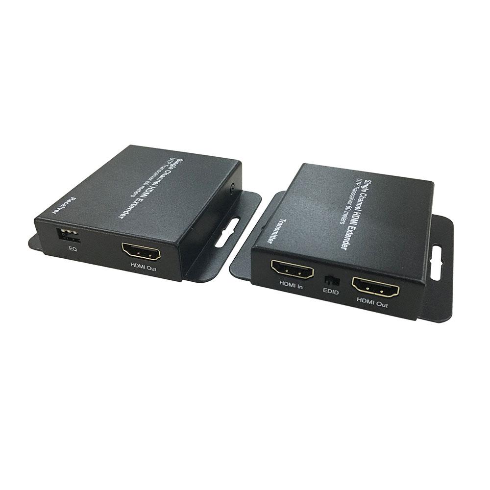 Extender HDMI Dahua PFM700-E, cablu UTP, 1 canal video, 50m imagine spy-shop.ro 2021