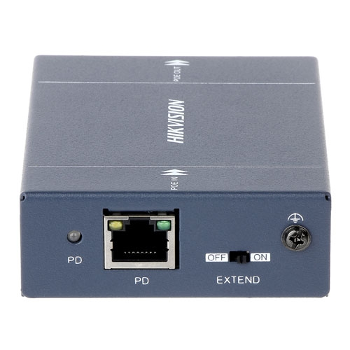 Extender PoE Hikvision DS-1H34-0101P, 42-57 V, metal