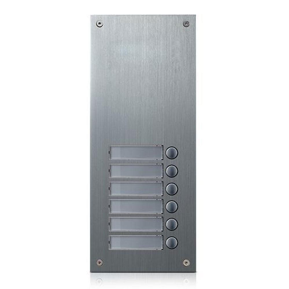 Extensie interfon de exterior Commax DR-6US, 6 familii, 12 V, ingropat imagine spy-shop.ro 2021