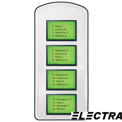 EXTENSIE INTERFON DE EXTERIOR ELECTRA PLL.42I