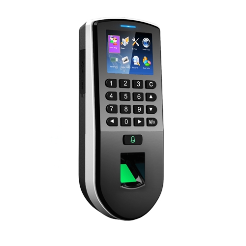 Cititor de amprente si de proximitate cu pontaj stand alone ZKteco F19, Wiegand 26/34, RFID, 8000 utilizatori