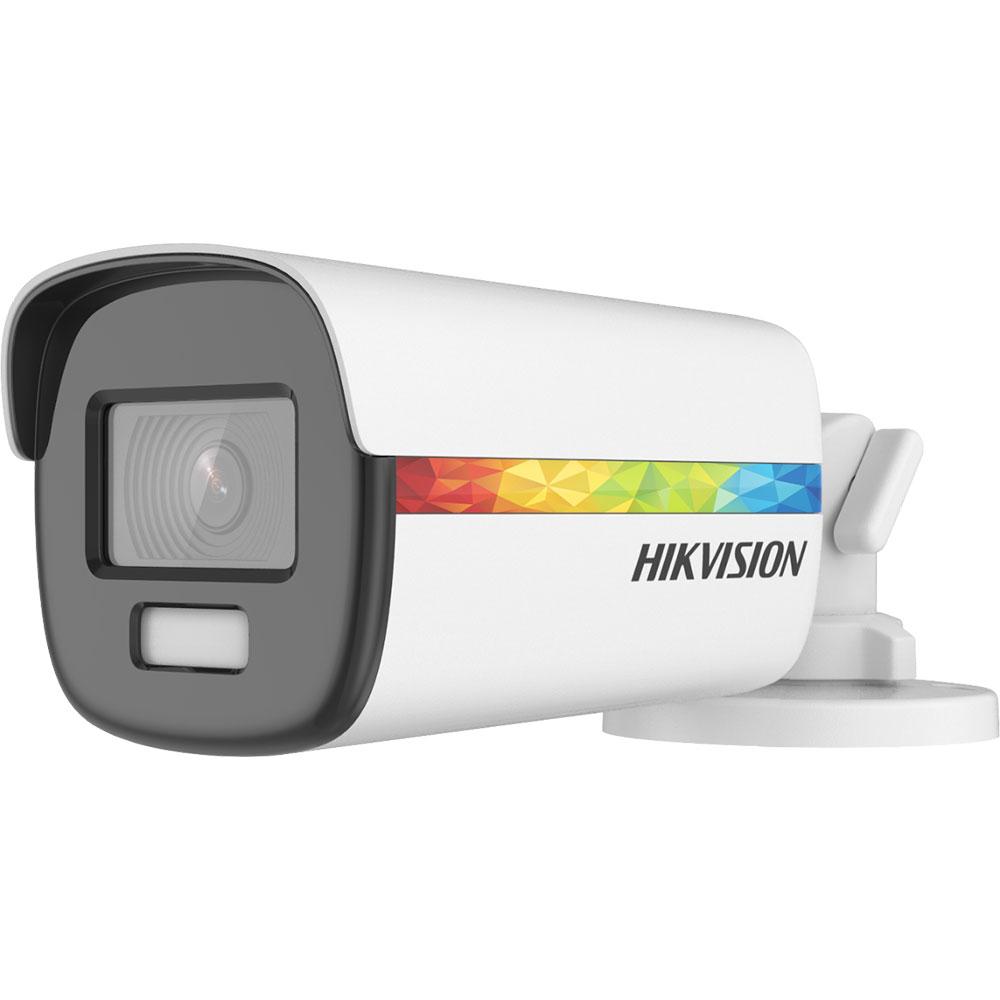 Camera supraveghere exterior Hikvision ColorVu DS-2CE12DF8T-F, 2 MP, lumina alba 40 m, 3.6 mm